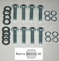 Ford Pinto Alloy Engine Mounts Bolt Set
